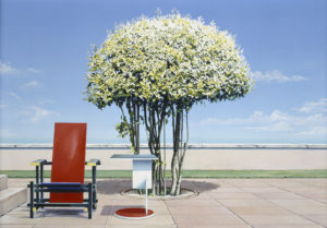 Ravenna tree with Rietveldt chair